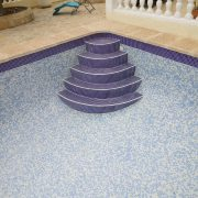 Grouting plus staircase installation plus border change in Moraira