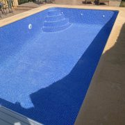 Renovation of this swimming pool in Javea/Xàbia with REVESTECH